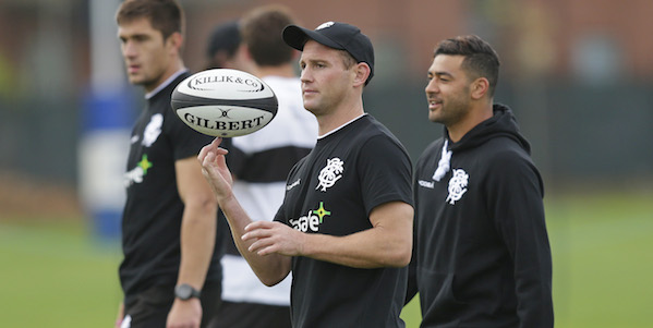 Andy Ellis leads the Barbarians once more
