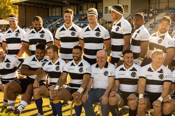 A happy Barbarians team