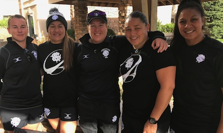 New Zealand players in Glendale