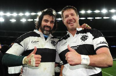 Bakkies Botha and Victor Matfield