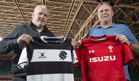 Warren Gatland and Wayne Pivac