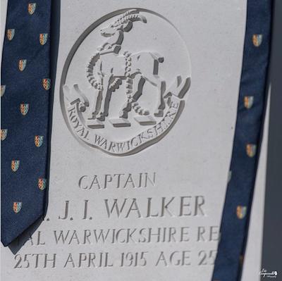 HJI Walker's headstone